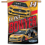"Clint Bowyer NASCAR 28"" x 40"" Vertical Flag"