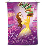 "Beauty and The Beast Disney 28"" x 40"" Vertical Flag - Belle Make Your Own Fairy Tale"
