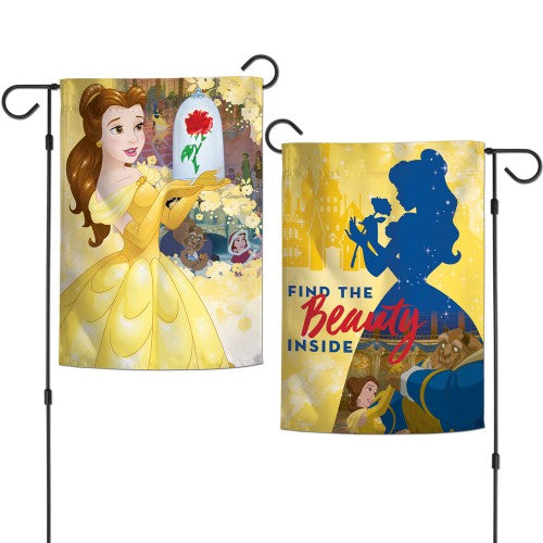 "Walt Disney Princess 2-Sided 12"" x 18"" Garden Flag - Belle"