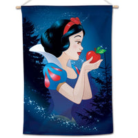"Snow White Disney 28"" x 40"" Vertical Flag - Snow White with Apple"