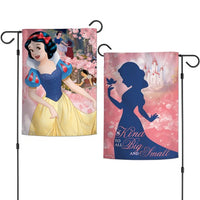 "Walt Disney Princess 2-Sided 12"" x 18"" Garden Flag - Snow White"