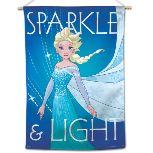 "Frozen Disney 28"" x 40"" Vertical Flag - Elsa Sparkle & Light"