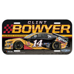Clint Bowyer NASCAR Full Color Plastic License Plate