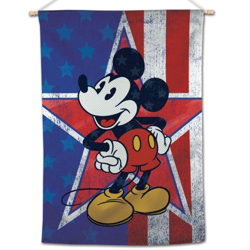 "Mickey Mouse Disney 28"" x 40"" Vertical Flag - Heritage Star"
