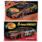 Martin Truex Jr #78 NASCAR 2-Sided 3 x 5 Flag