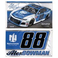 Alex Bowman NASCAR 2-Sided 3 x 5 Flag