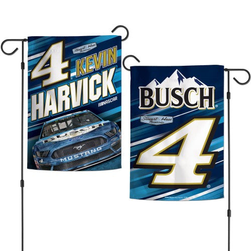 "Kevin Harvick NASCAR Double-Sided 12"" x 18"" Garden Flag"
