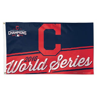 Cleveland Indians MLB 3' x 5' Single-Sided Deluxe Flag - 2016 World Series