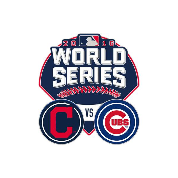 2016 World Series MLB Collectible Pin - Chicago Cubs vs Cleveland Indians