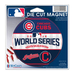 "Chicago Cubs vs Cleveland Indians 2016 World Series MLB 4"" Round Magnet"