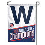 "Chicago Cubs MLB 11"" x 15"" Economy Garden Flag - 2016 World Series Champions"