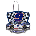 Chase Elliott NASCAR 2018 Dated Acrylic Ornament