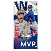 Chicago Cubs MLB Spectra Beach Towel - Ben Zobrist World Series MVP