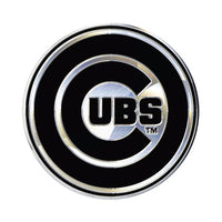 Chicago Cubs MLB Premium Chrome Free Form Auto Emblem