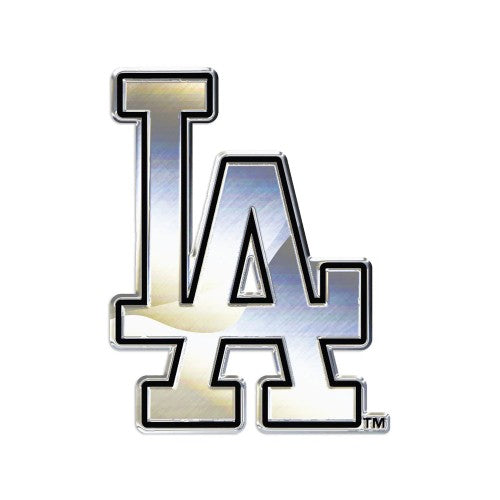 Los Angeles Dodgers MLB Premium Chrome Free Form Auto Emblem