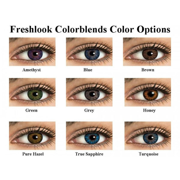 FreshLook Colorblends Colors