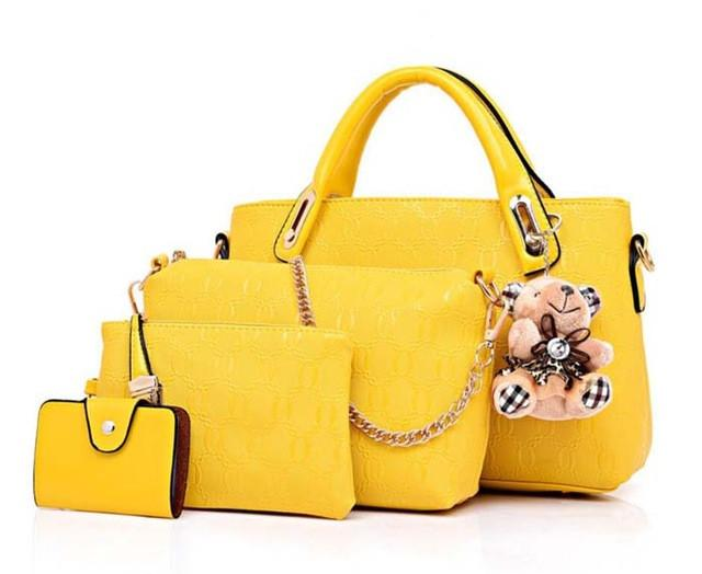 4 Piece Set Fashion Women Handbags - SookieWear