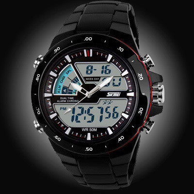 50M Waterproof Mens Sports Watch