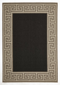 Adonis Charcoal Outdoor Rug