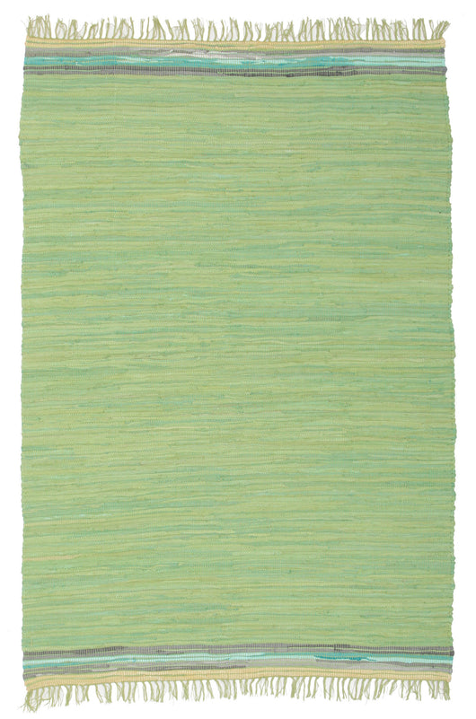 Boho Whimsical Rug Green