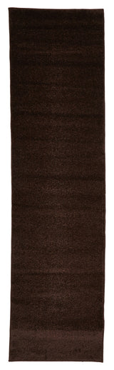 Dense Plain Brown Coloured Rug