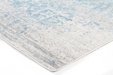 Glacier White Blue Transitional Rug