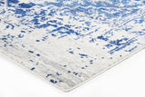 Horizon White Navy Transitional Rug