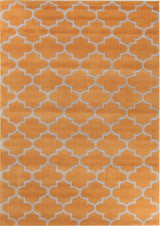 Lattice Orange Rug