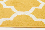 Indoor Outdoor Morocco Rug Yellow