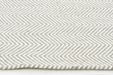 Herring Bone Chevron Rug Natural