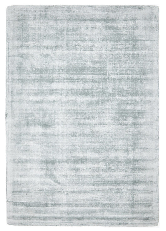 Luxe Modern Distressed Rug Sky Blue