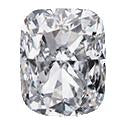 0.37 Carat Cushion Diamond J Color SI2 Clarity GIA Certificate