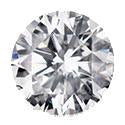 0.9 Carat Round Diamond H Color VS2 Clarity GIA Certificate