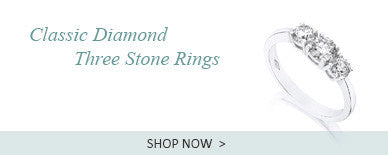Diamond Three Stone Rings