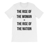THE RISE OF THE WOMAN = THE RISE OF THE NATION