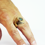Surrealism Ring | Dali Signet Ring | Eye Signet Ring | Ear Signet Ring | Lips Signet Ring | Mystical Ring | Magick Ring | Modern Mystical Heirlooms | Made in USA Jewelry | Conscious Collection Jewelry | Best ring in the world | JC Ortiz | Brooklyn Smithy | BKS Rings