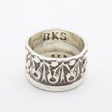 SHOP BKS RINGS | Minimal Decadent Roman Crown Ring | Rock and Roll Jewelry | Handcrafted in the USA Bespoke Rings and Custom Made Jewelry | @BrooklynSmithy | BKS RINGS | #rintrue | Sentimental Rings with Free Engraving to Personalize