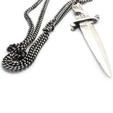 Brooklyn Smithy Dagger Knife Pendant | BKS Rings | Brooklyn Smithy Every Day Carry | EDC | Solid Sterling Silver
