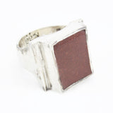 RED EARTH SIGNET RING