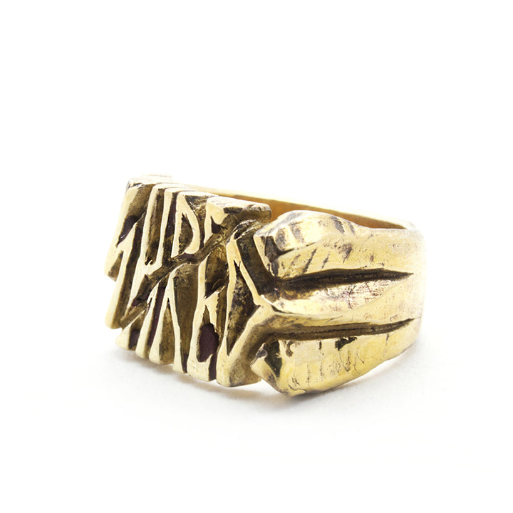 SHRED SIGNET RING