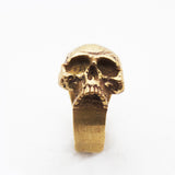 Sideways Skull II Ring by Brooklyn Smithy | BKS Bold Rings | Minimalist Skull ring Made in USA Jewelry