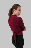 Andy Sweater in Burgundy
