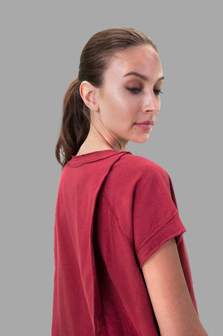 Emma Top in Burgundy