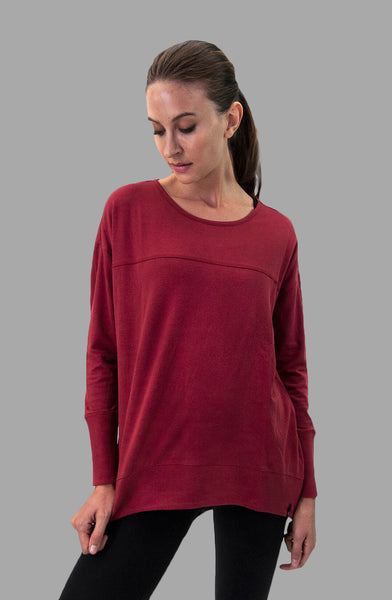 Lynn Top in Burgundy