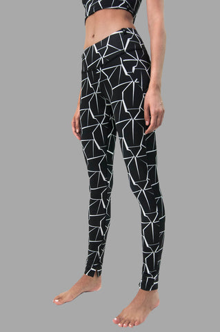Mantra Legging in Crackle Print