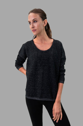 Tia Sweater in Black