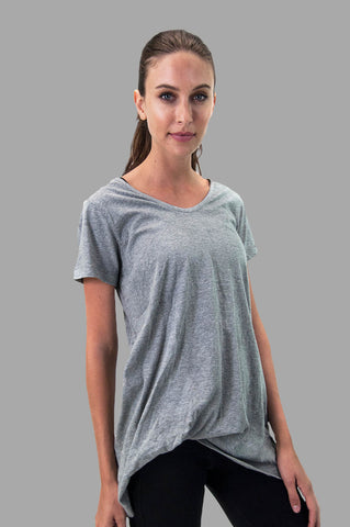 Whisper Tee in Grey