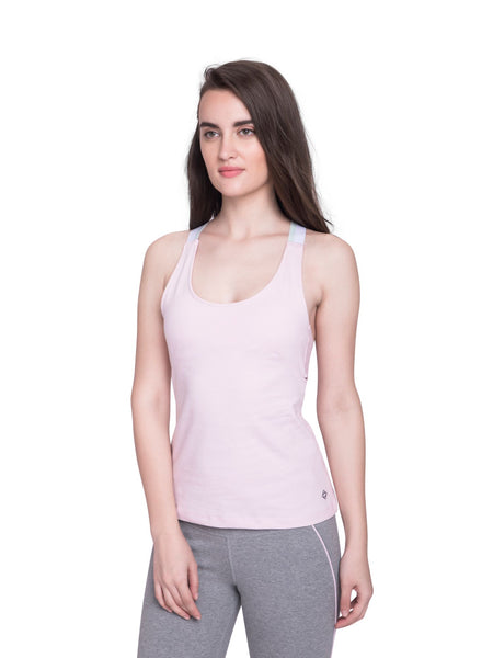 Ahimsa Fitted Cami Pink