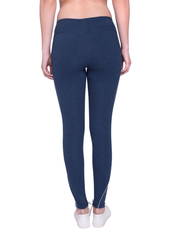 Prema Highwaisted Legging Dk Blue Heather