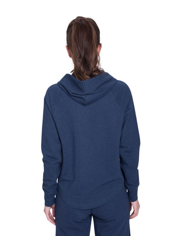 Parama Relaxed Hoodie Blue Heather